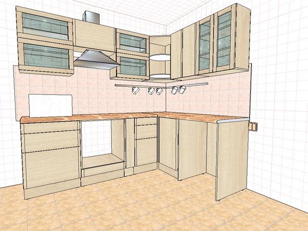Как сделать свою кухню угловой