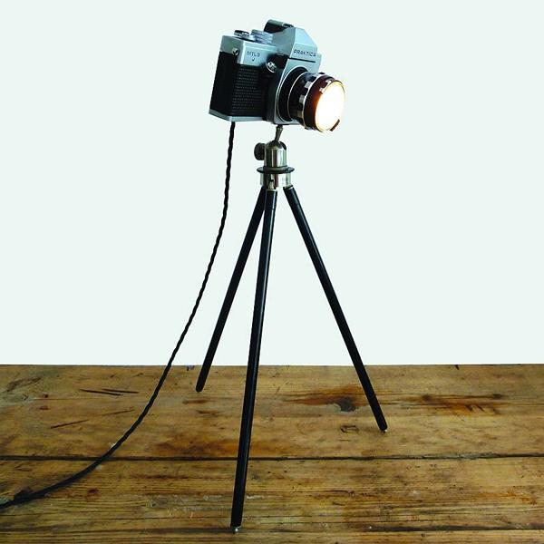 Лампы из фотокамер от Tinker & Tailor (подборка)