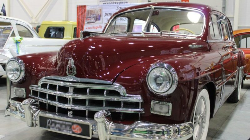 ЗИМ - реставрация первой представительской модели Горьковского автозавода