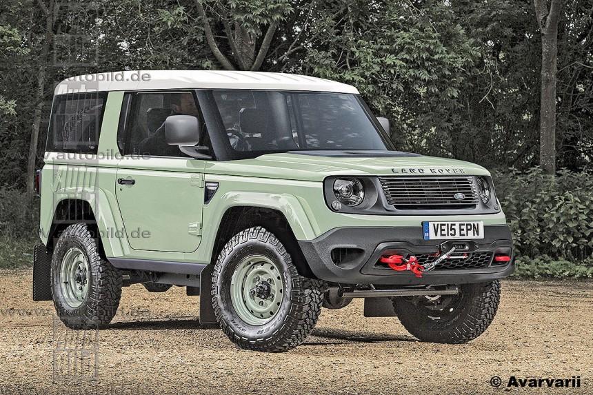 Новый Land Rover Defender: он может стать таким