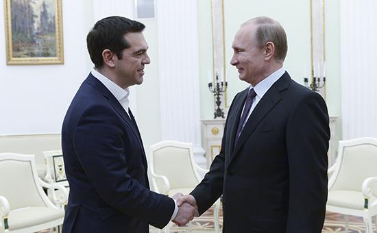 Кремль опроверг договоренности с Афинами о предоставлении €3–5 млрд
