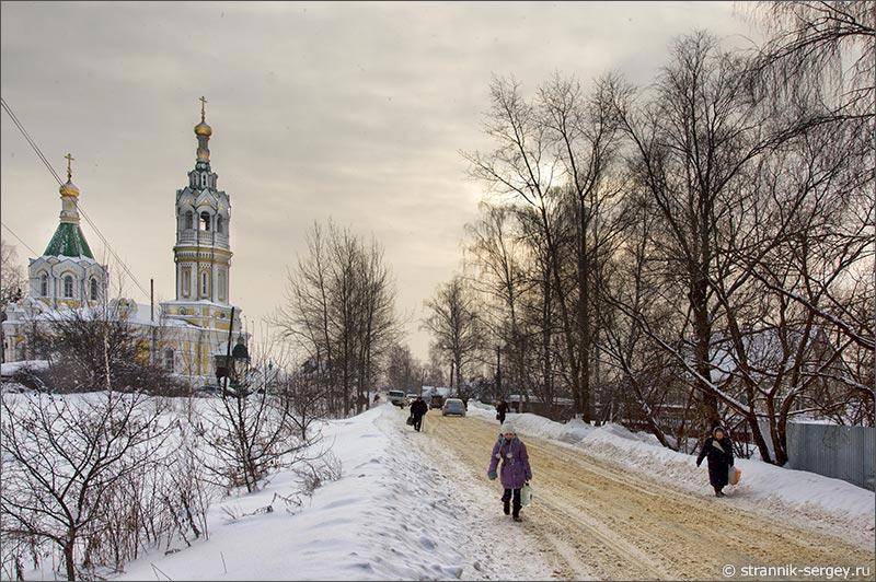 Георгиевский храм в Праздничный день