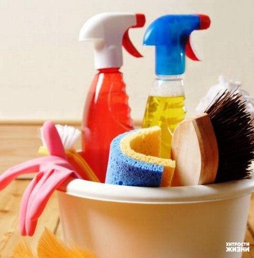 Кухонные хитрости или как очистить предметы быта без использования бытовой химии.