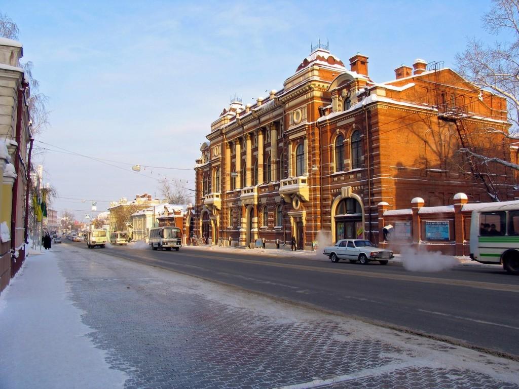 Томск виды города фото