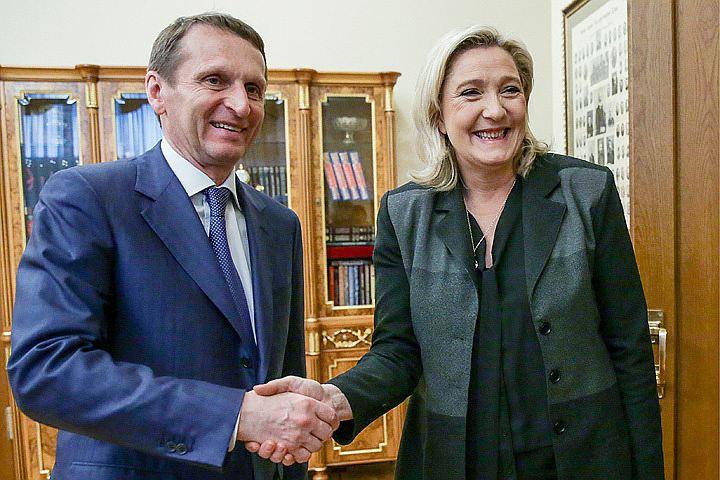 Ле Пен готова помирить Россию с Евросоюзом