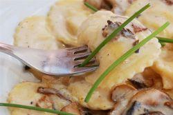Рецепты приготовления равиоли с грибами