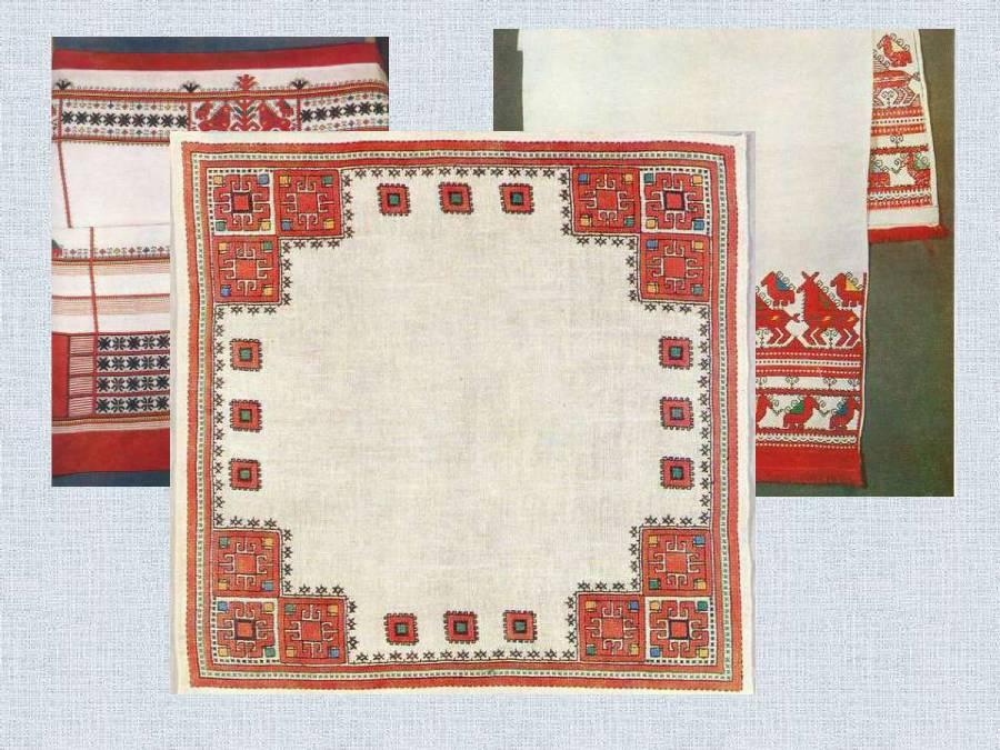 Схемы чувашской вышивки