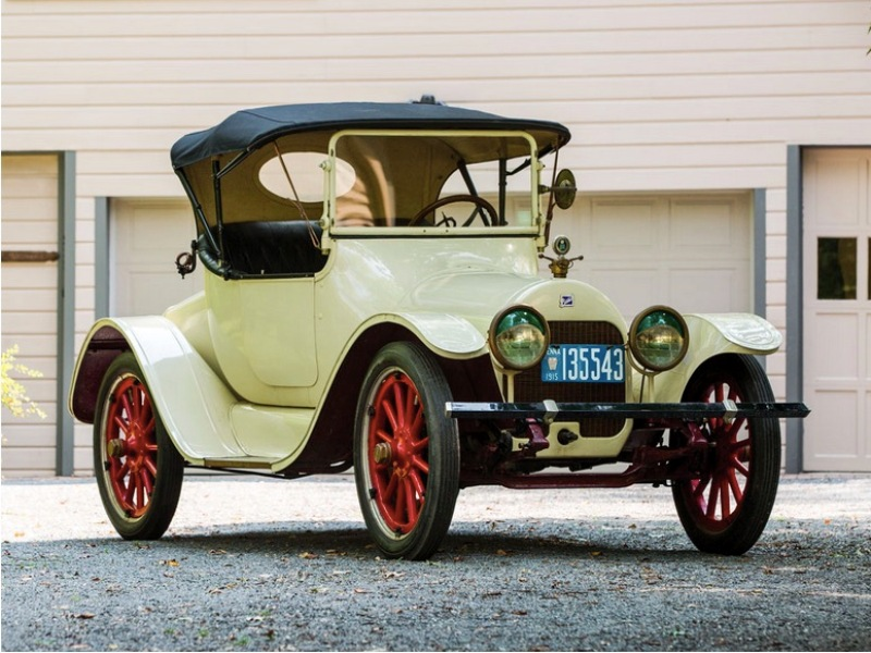 6. Buick Model C-36 - 1915 год Hershey Motor Lodge, аукцион, олдтаймер, продажа авто