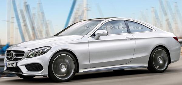 Названа дата премьеры купе Mercedes-Benz C-Class