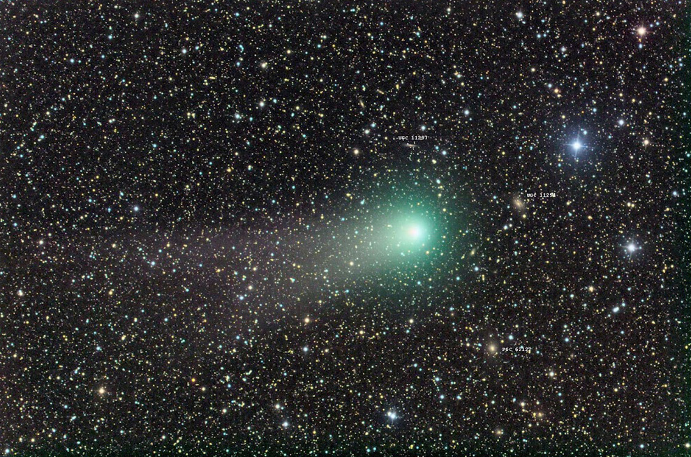 969 Комета Гаррадда