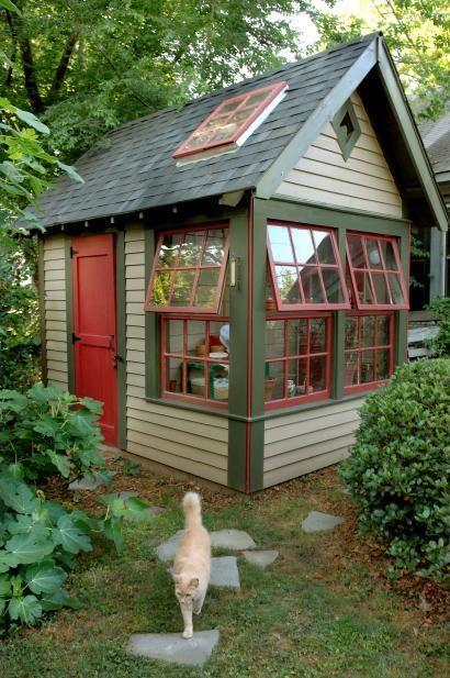 Фото садовый домик своими руками
