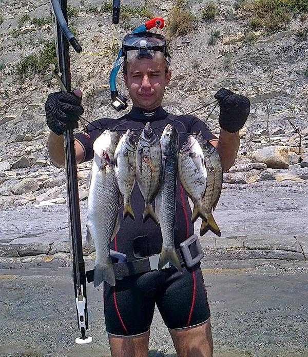для подводной охоты и рыбалки