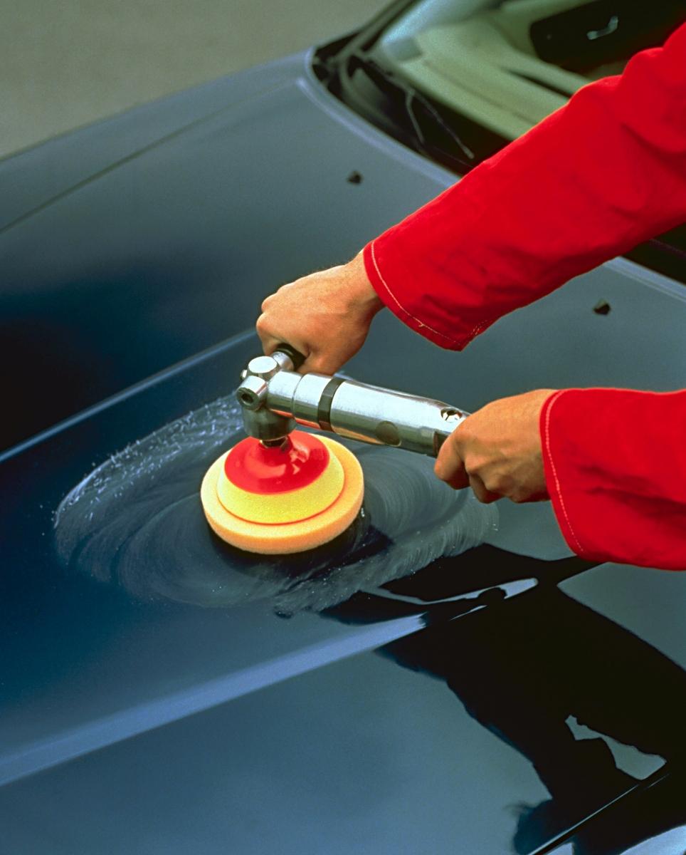 Чем лучше отполировать авто своими руками