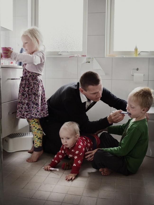 Папы, для которых время, проведенное с ребенком, дороже будничной суеты