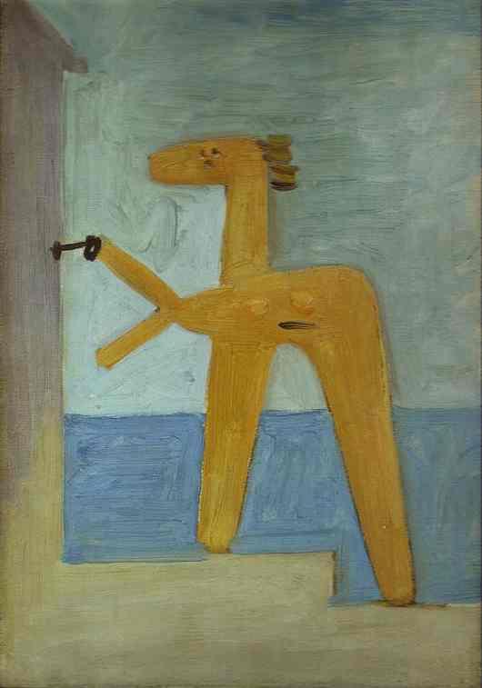 Пабло Пикассо. Купальщица, открывающая кабинку. 1928 год
