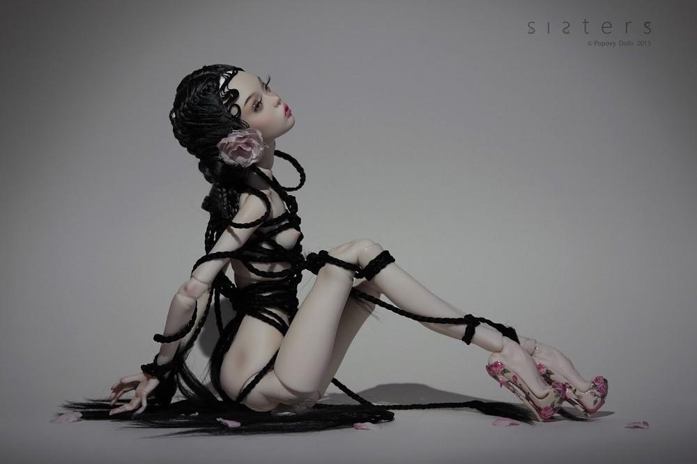 Темные куклы Поповых