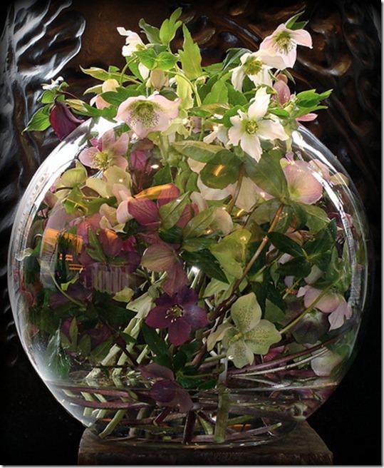Фото цветов в вазе как декор