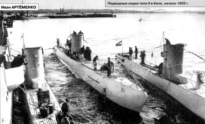 истории немецких подводных лодок