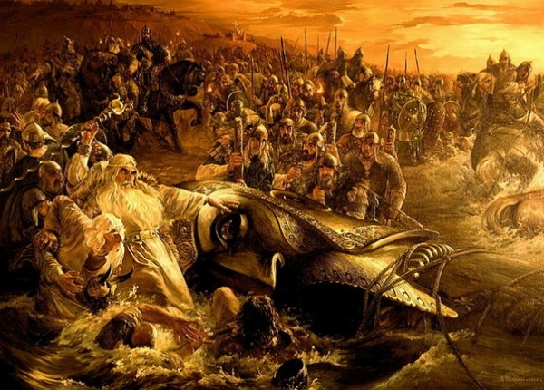 Крещение Новгорода Великого.