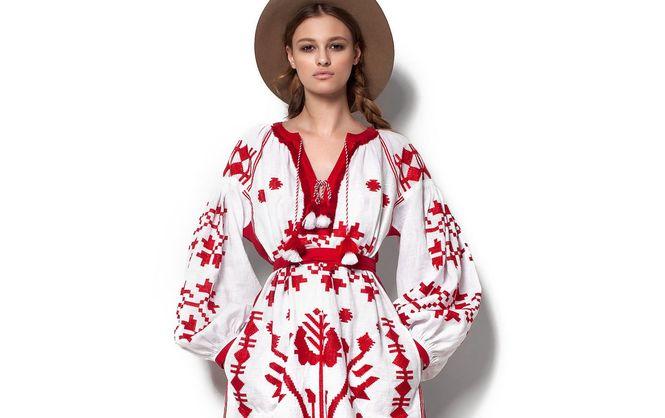 Вышивка в стиле этношик