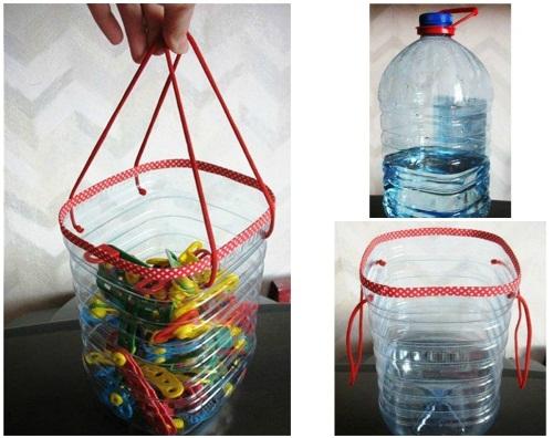 Что можно сделать из бутылки пластиковой своими руками