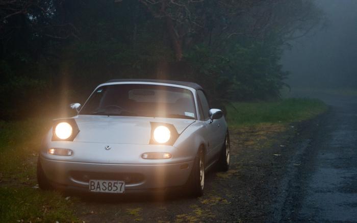 Mazda Miata.