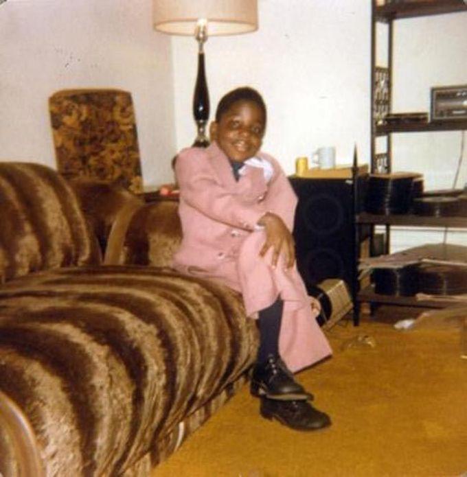 6-летний Notorious BIG, настоящее имя Кристофер Уоллес, 1978 дети, известность, история, фото