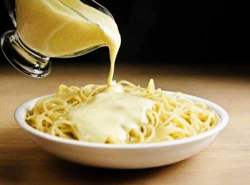 Сырный соус для спагетти