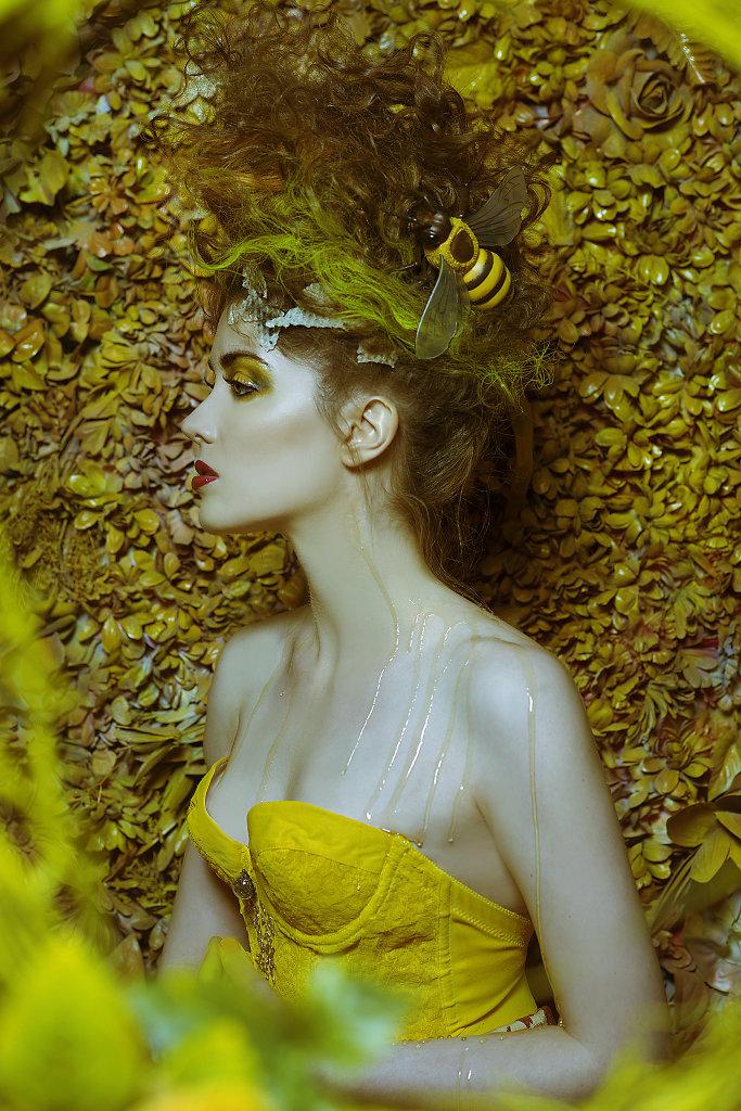Фотопрект «Таинственный сад». Потрясающие сюрреалистические портреты фотографа Даниэлы Мэджик - 9