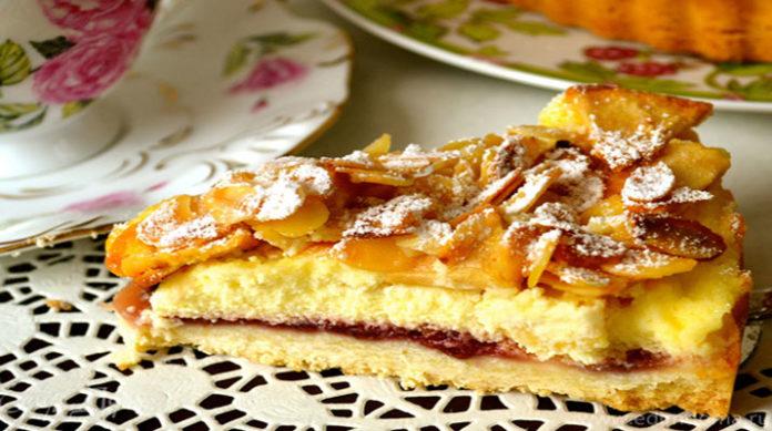 Уникальный яблочный торт по-баварски