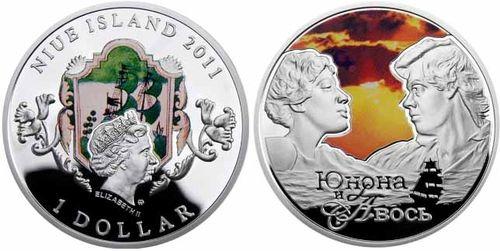 Новозеландский доллар с изображением Николая Караченцова