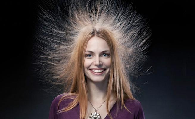 Как снять наэлектризованность с волос