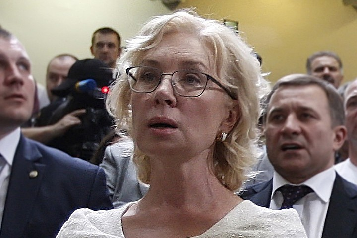 Денисова опубликовала фото Сенцова, переданные Москальковой