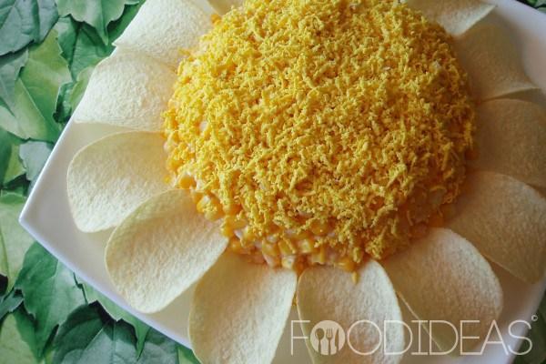 Ромашка чипсами рецепт с фото