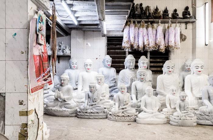 Мьянма в фотографиях Adriaan Louw