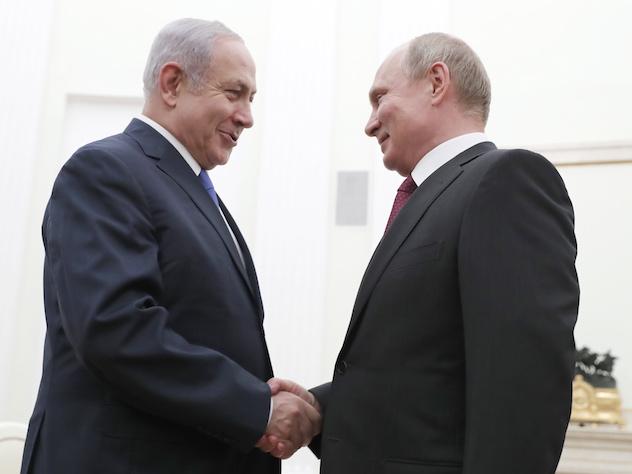 Путин объяснил Нетаньяху, зачем российский комплекс С-300 нужен в Сирии