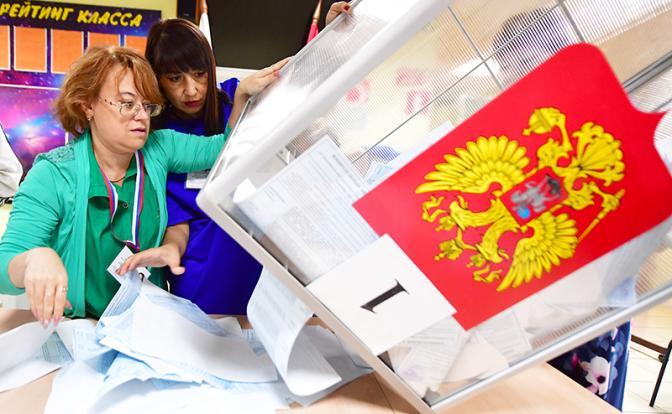 Победа Собянина: 70 % москвичей не пришли на выборы