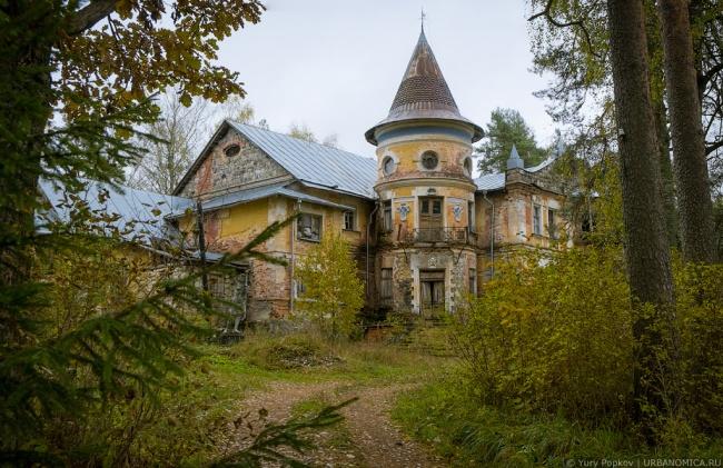 Заброшенные и поэтому жуткие места на территории России