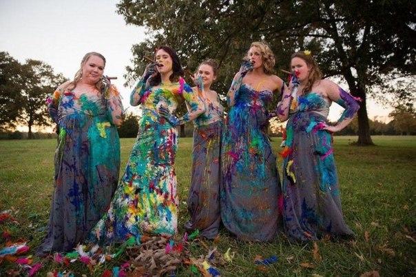 Невеста точно знала что делать со свадебным платьем после того, как жених бросил её накануне свадьбы