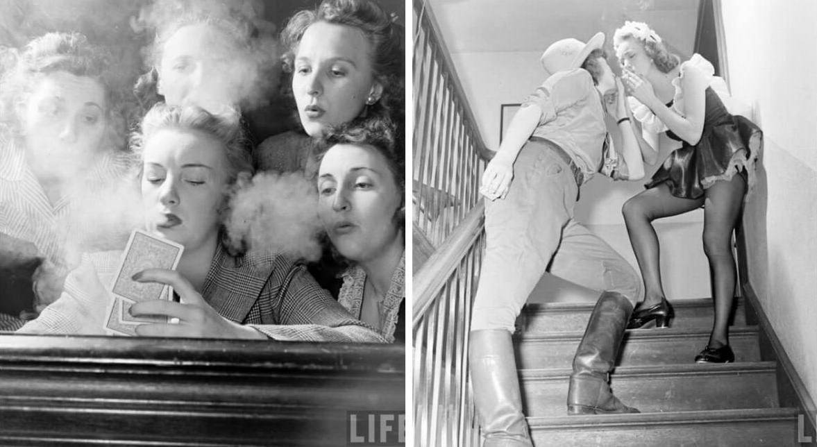 Вся правда о закрытых женских вечеринках 1940-х
