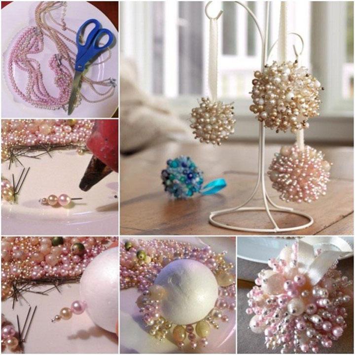 Поделки из пенопластового шарика