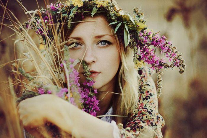 Очаровательная  красота деву…