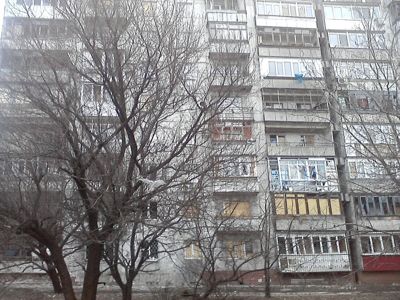 Донецк – мартовские заморозки и незамутненная евро-украинская принципиальность