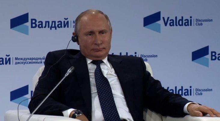 Путин: Россия приступила к операции в Сирии из-за угрозы терроризма