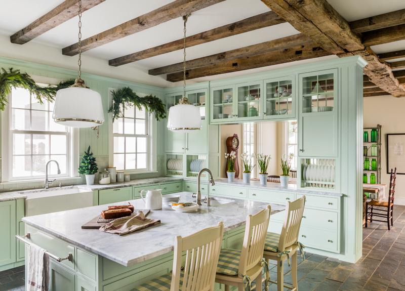 54eb56a0cf4e7   01 blue ribbon kitchen island 1214 xln Дизайн фасадов кухонных шкафов 60 фото
