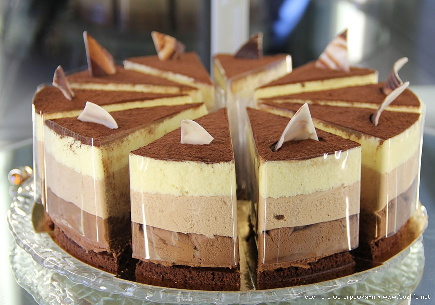 Рецепт торта три шоколада пошагово в домашних условиях