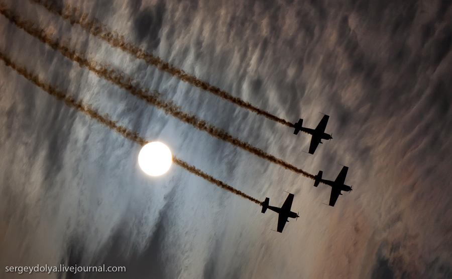 530 Авиасалон в Бахрейне: Фотографии, сделанные против солнца