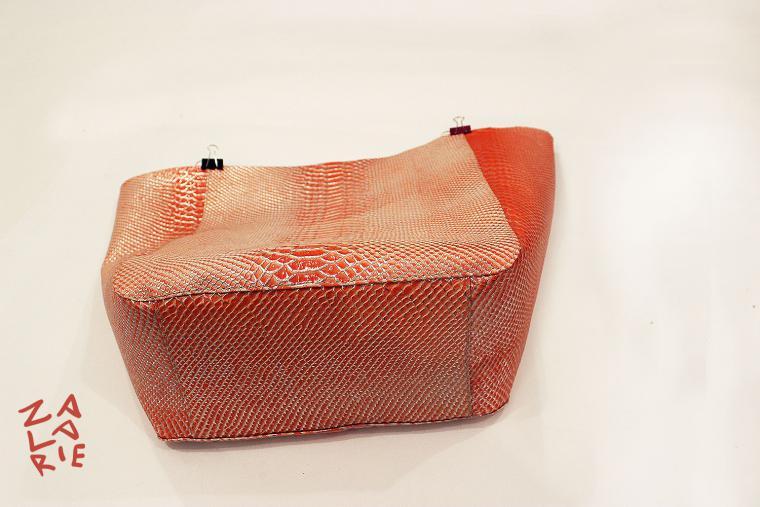 Как сшить сумку-шоппер с двойной магнитной застежкой за 15 шагов