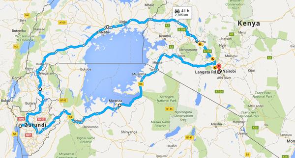 Отпуск в Африке, часть 2