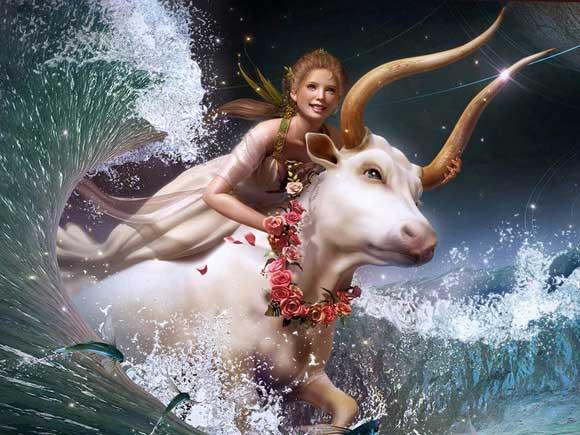 Удивительно красивый женский гороскоп. С праздником, девочки!